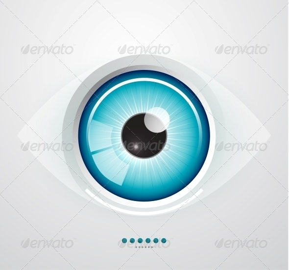 Eye Background - Web Elements Vectors