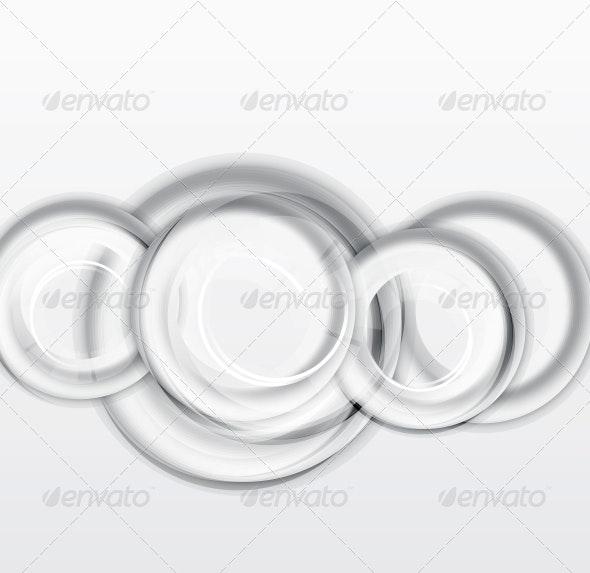 Circles Geometrical Background - Backgrounds Decorative