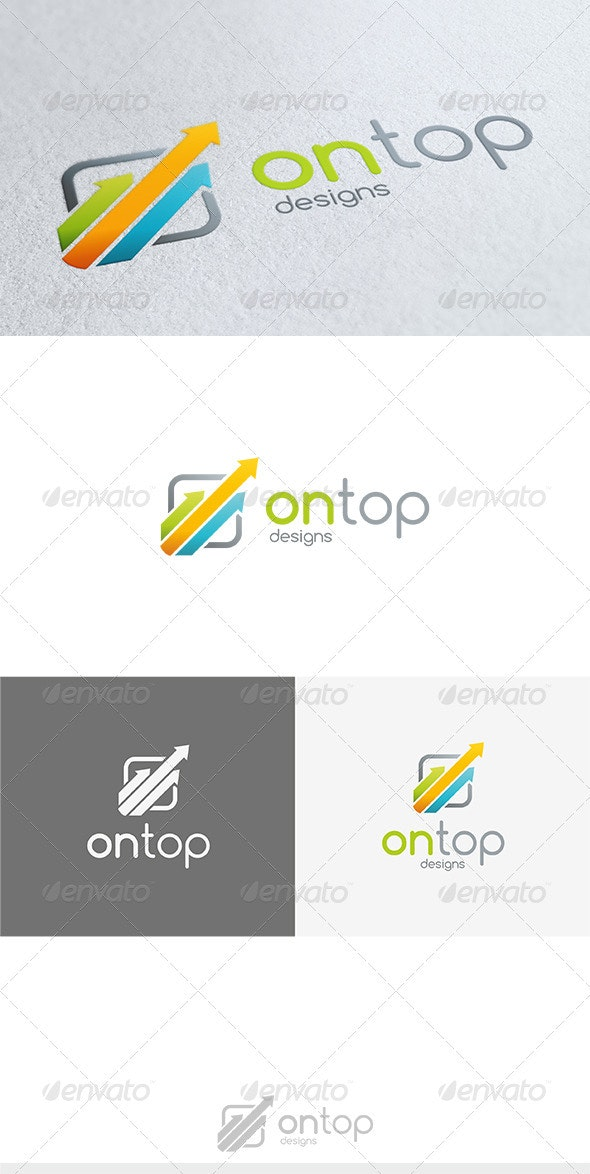 On Top Logo - Vector Abstract