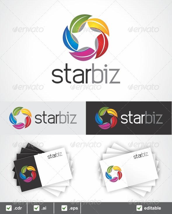 Star Biz Logo - Symbols Logo Templates