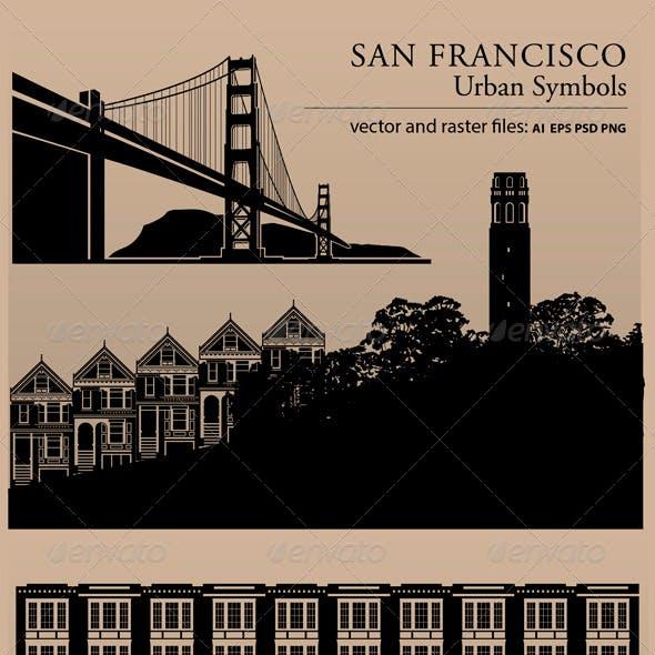 San Francisco Urban Symbols