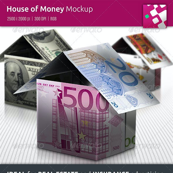 House of Money Mockup