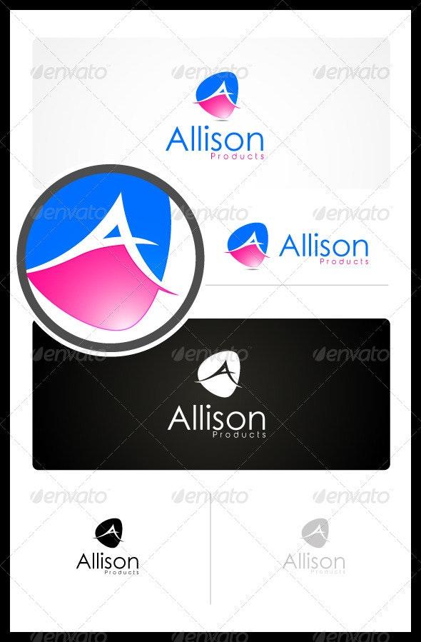 Allison Beauty Products - Letters Logo Templates