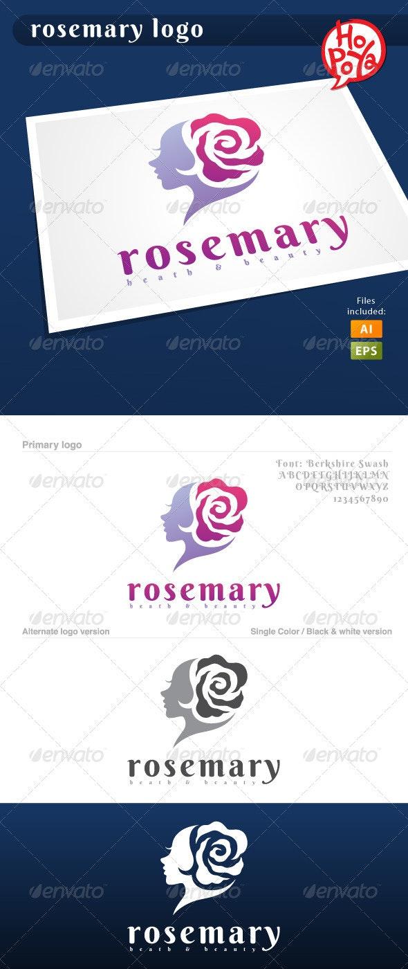 Rosemary Logo - Humans Logo Templates