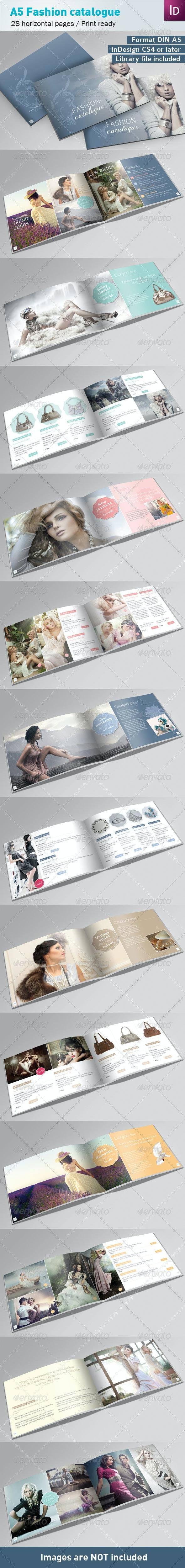Fashion Catalogue A5 - Catalogs Brochures