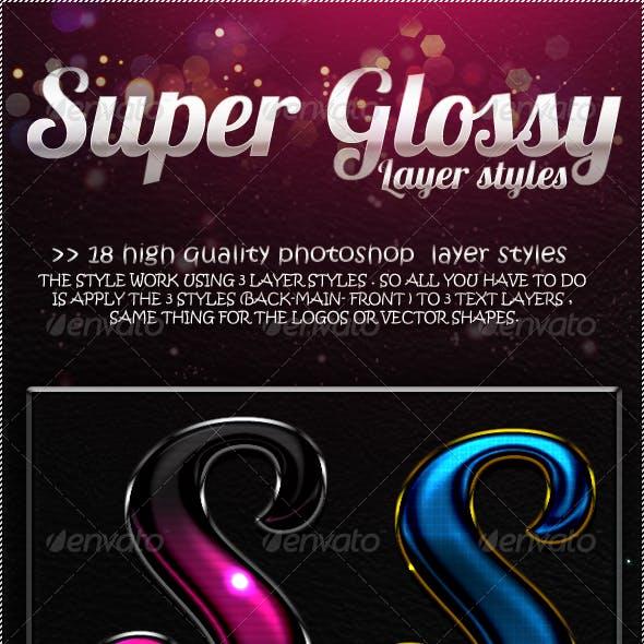 Super Glossy Layer Styles V1