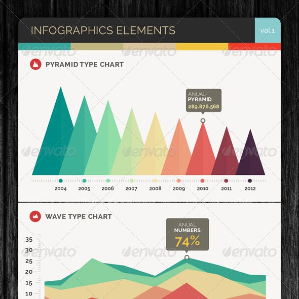 Infographics Elements Vol.1