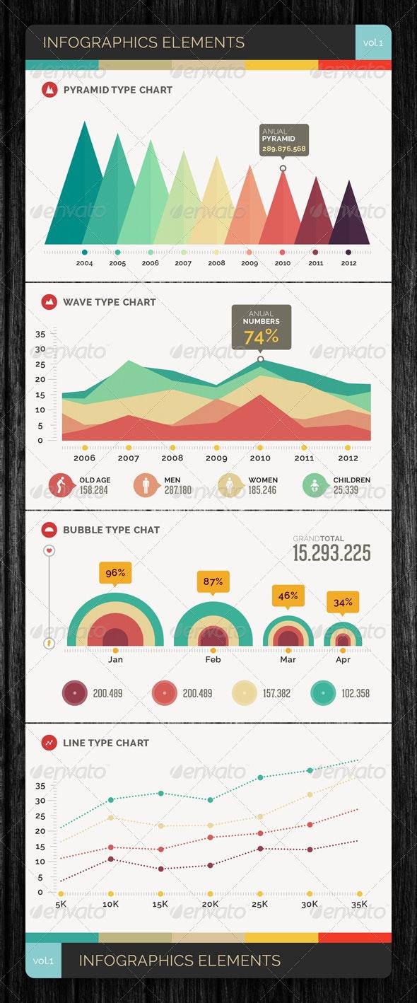Infographics Elements Vol.1 - Infographics