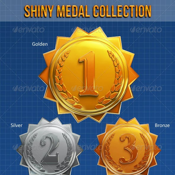 Shiny Medal Collection