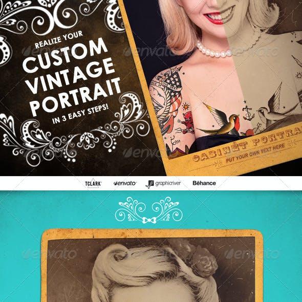 Custom Vintage Portrait