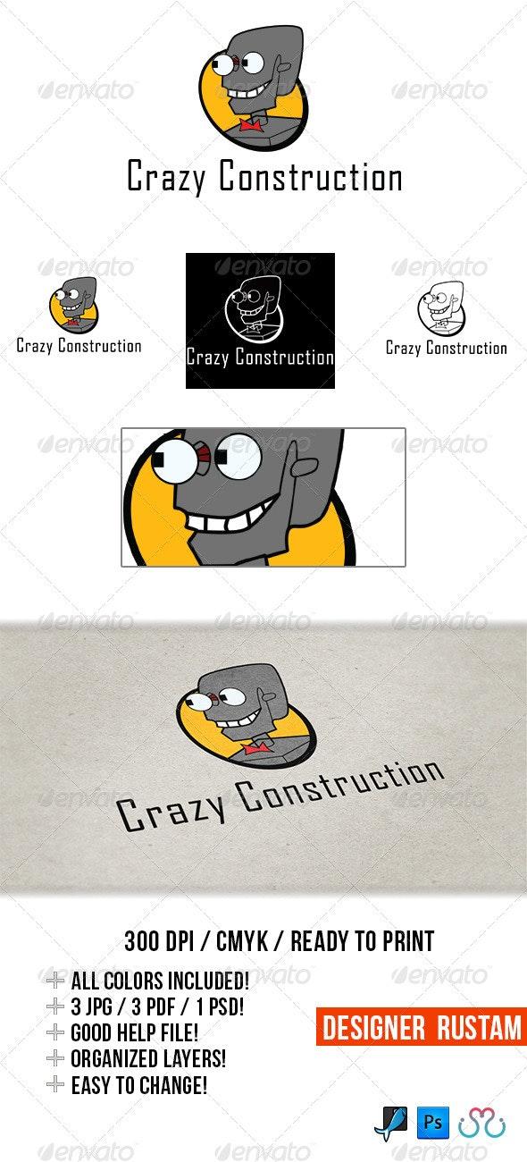 Crazy construction - Vector Abstract