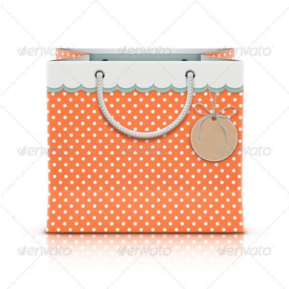 Retro Paper Shopping Bag