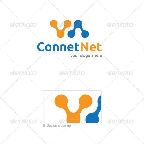 ConnectNet Logo Template