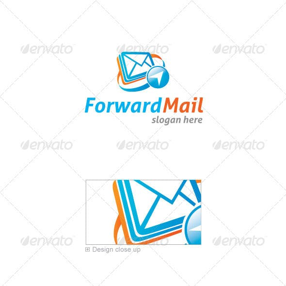 Forward Mail Logo Template