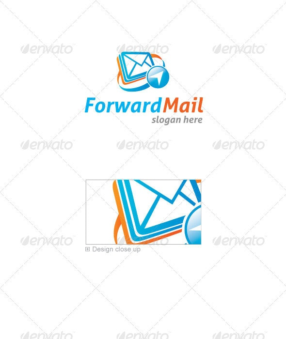 Forward Mail Logo Template - Symbols Logo Templates