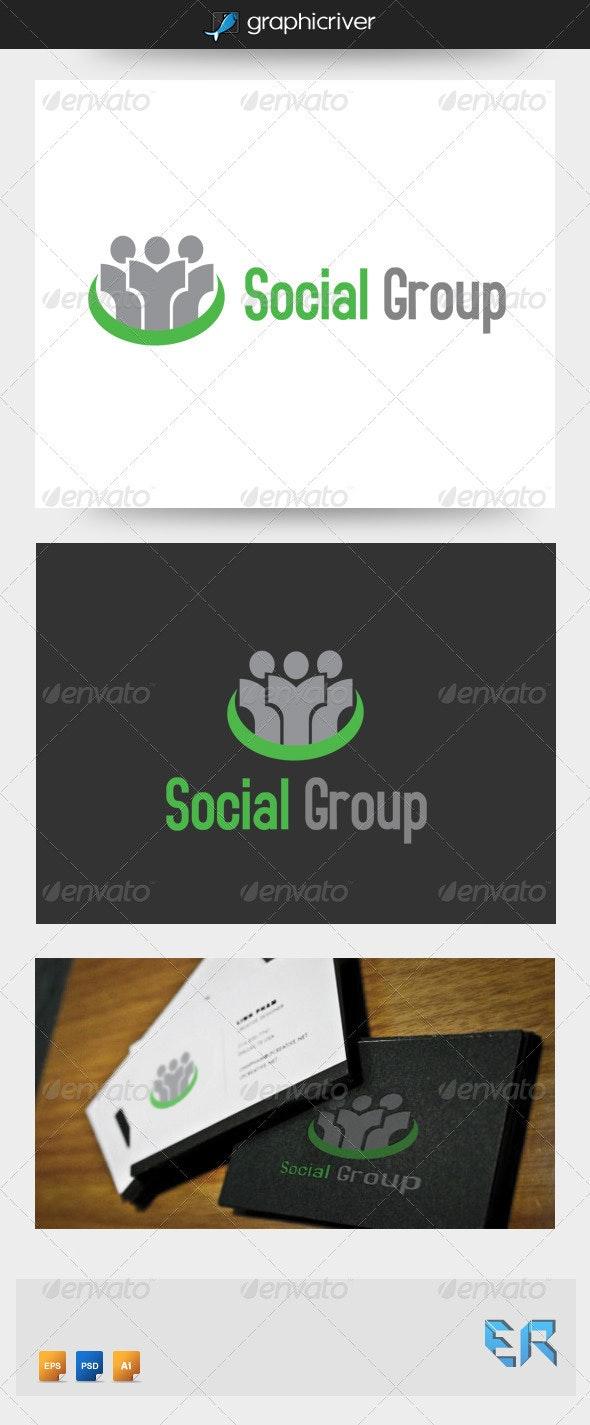 Social Group Logo - Symbols Logo Templates