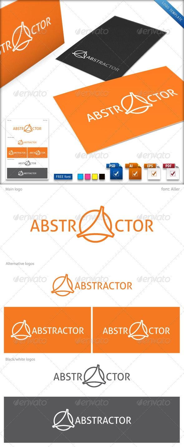 Abstractor Logo Template - Abstract Logo Templates