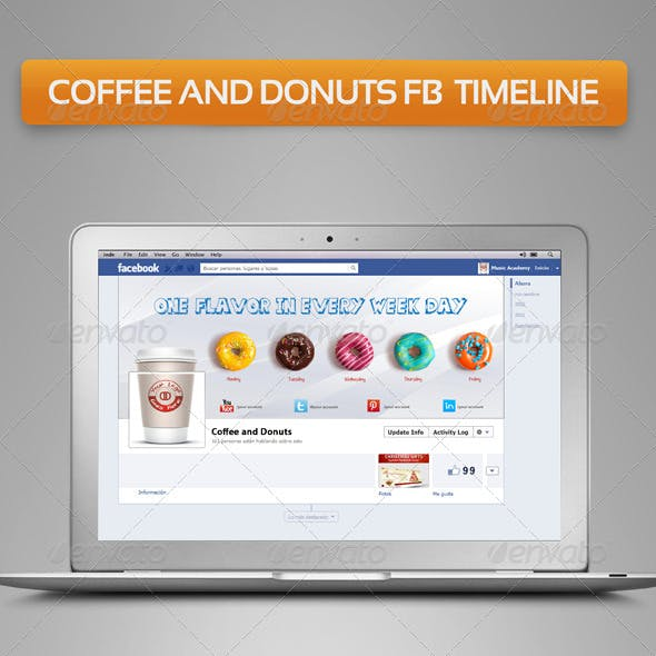 Coffee and Donuts FB Timeline