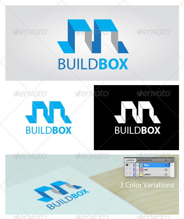 Buildbox Logo Template - Abstract Logo Templates
