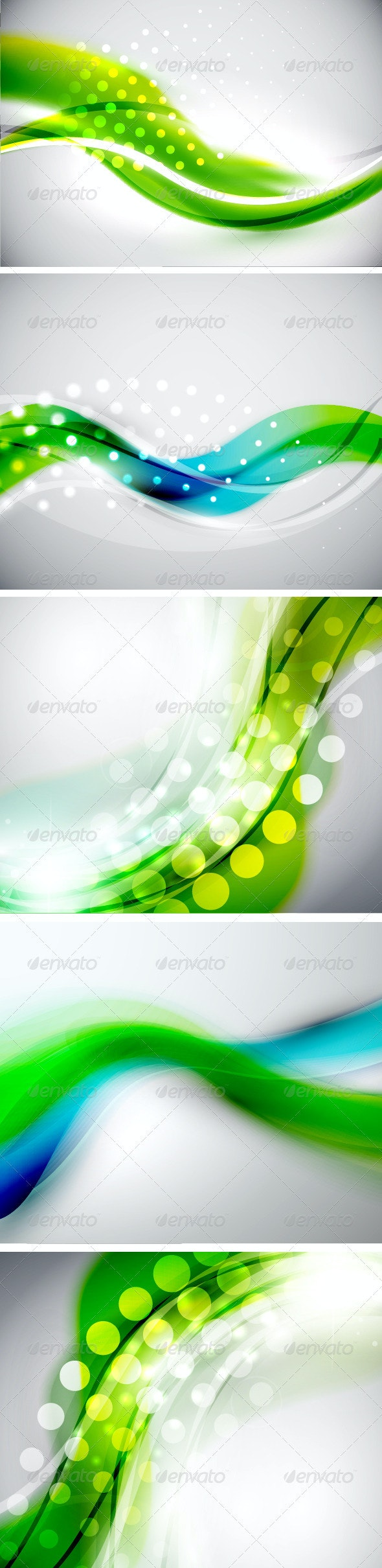 Blue Green Creative Backgrounds - Backgrounds Decorative