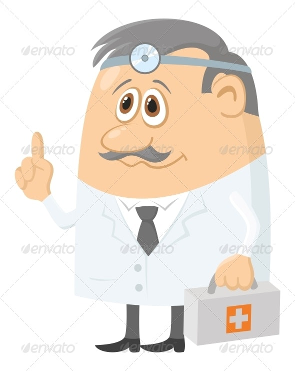 Doctor with Case - Health/Medicine Conceptual