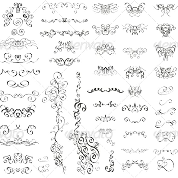 Calligraphic Graphics, Designs & Templates from GraphicRiver