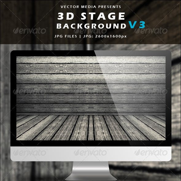 3D Stage Background - Vol.3
