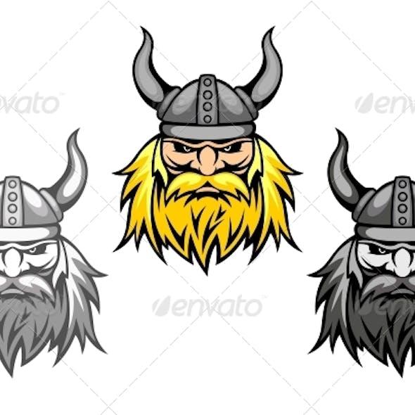 Aggressive Viking Warriors