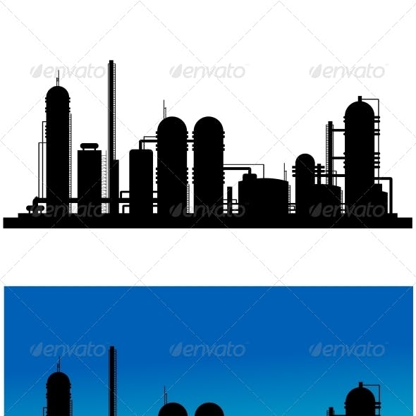 Chemical or Refinery Plant
