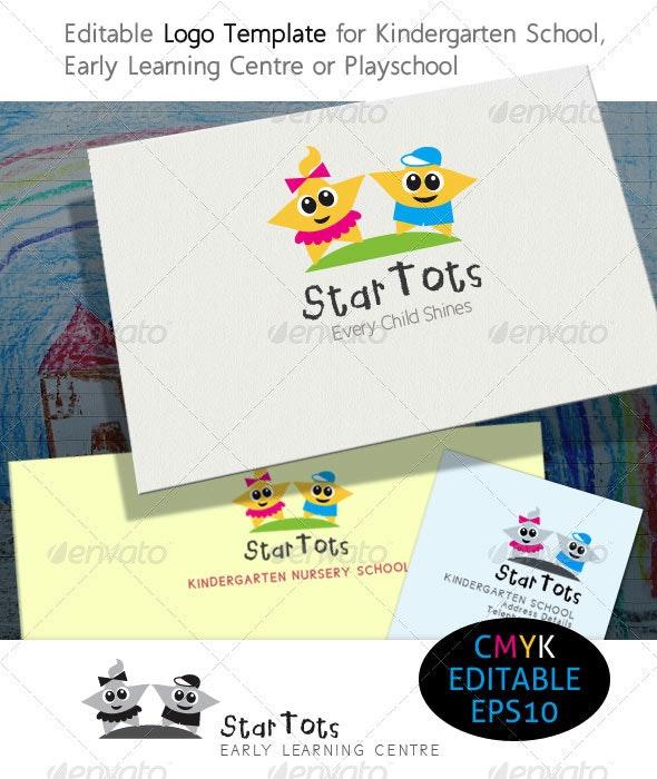 StarTots Early Learning & Kindergarten School - Symbols Logo Templates