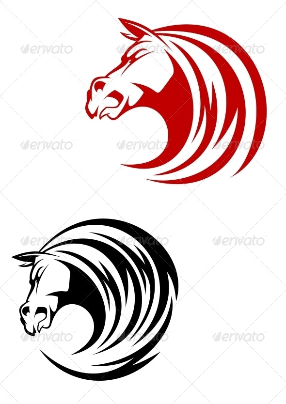 Horse Mascot - Animals Characters