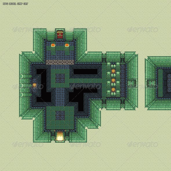 RPG Dungeon Level Chip Set 02