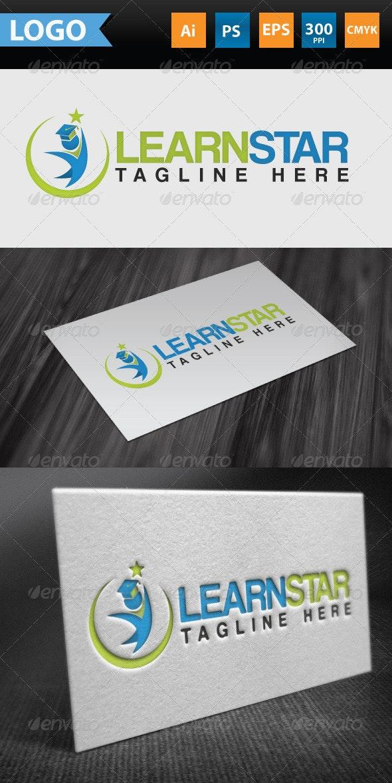 Learning Star Logo - Symbols Logo Templates