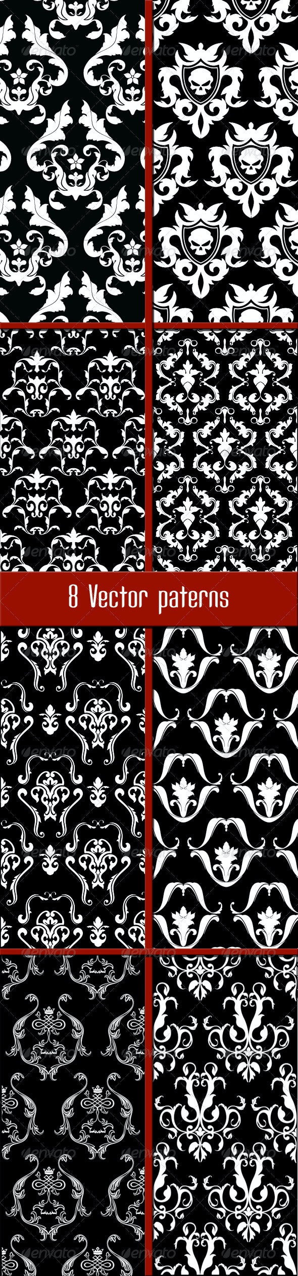 8 Patterns - Patterns Decorative