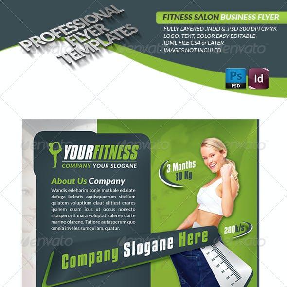 Fitness Center Business Flyer