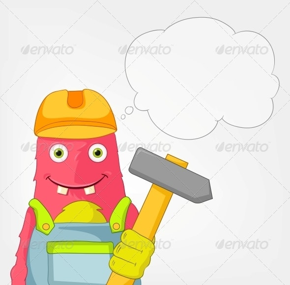 Funny Monster - Contractor - Monsters Characters