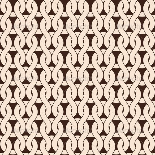 Vector Seamless Knitted Pattern