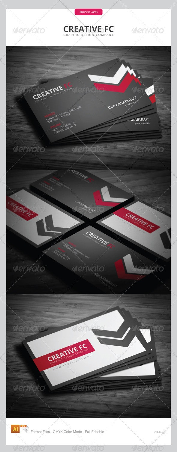 corporate business cards 247 - Creative Business Cards