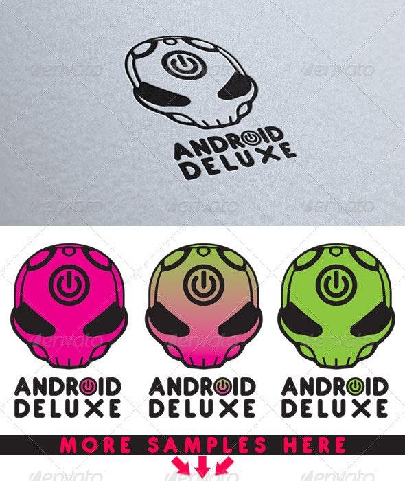 Android Deluxe Logo - Symbols Logo Templates