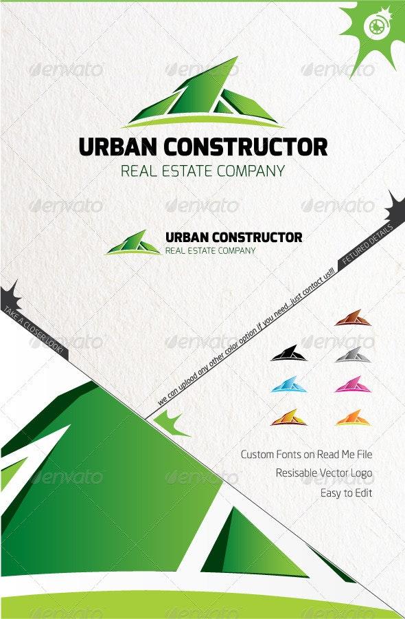 Urban Constructor Logo - Buildings Logo Templates