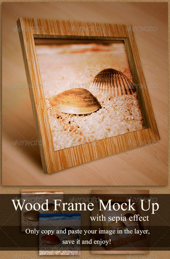 Photo Frame Mock Up - Miscellaneous Displays