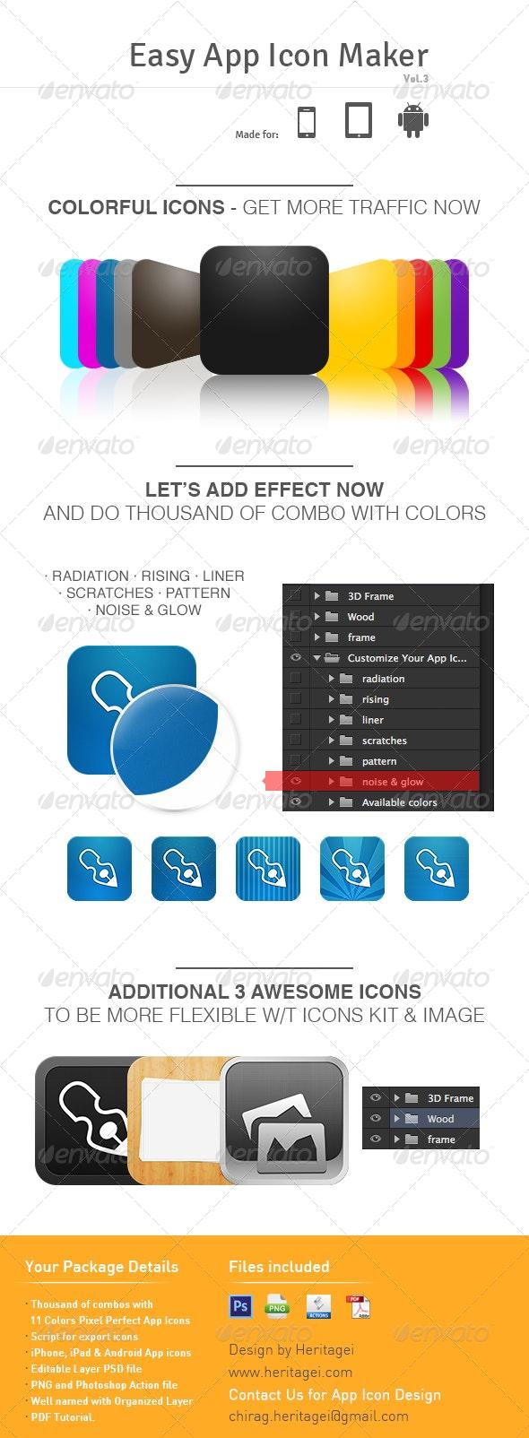 Easy App Icon Maker v 3.0