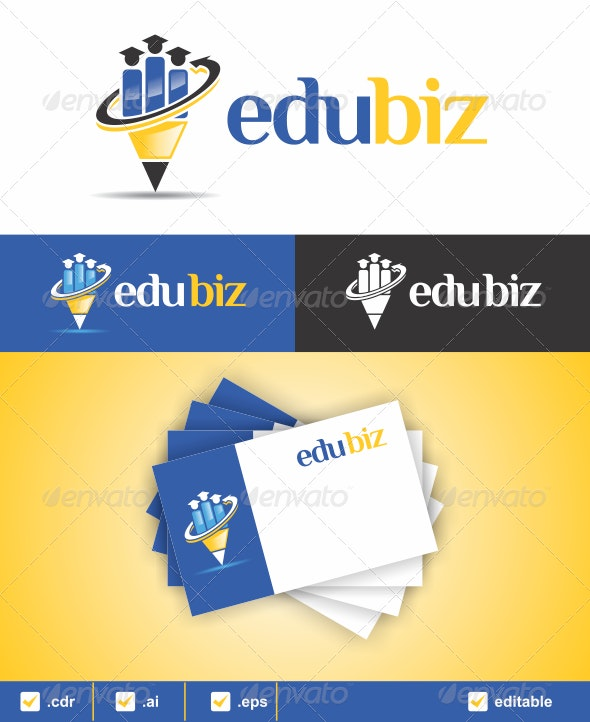 Edubiz Logo - Humans Logo Templates