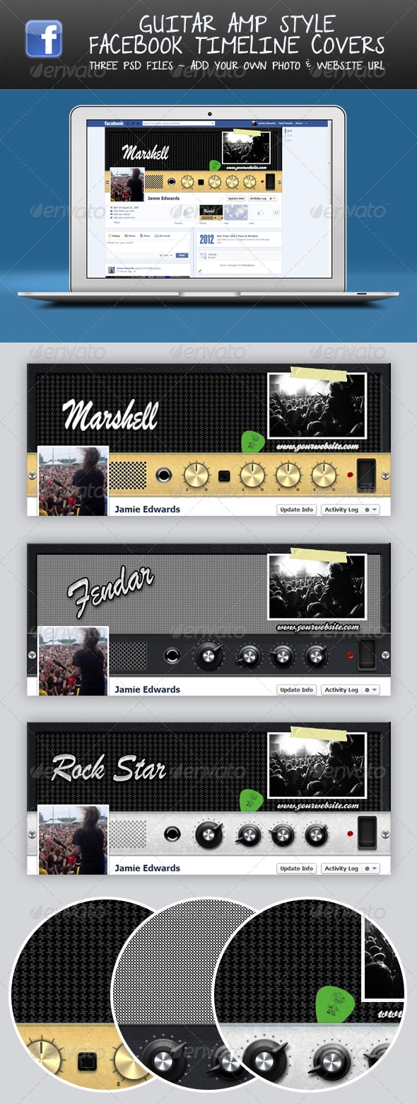 Guitar Amp Head FB Timeline Covers - Facebook Timeline Covers Social Media
