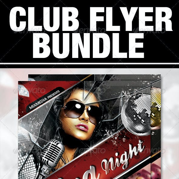 Club Flyer Bundle
