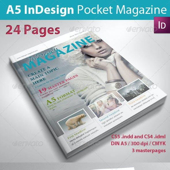 A5 InDesign Magazine