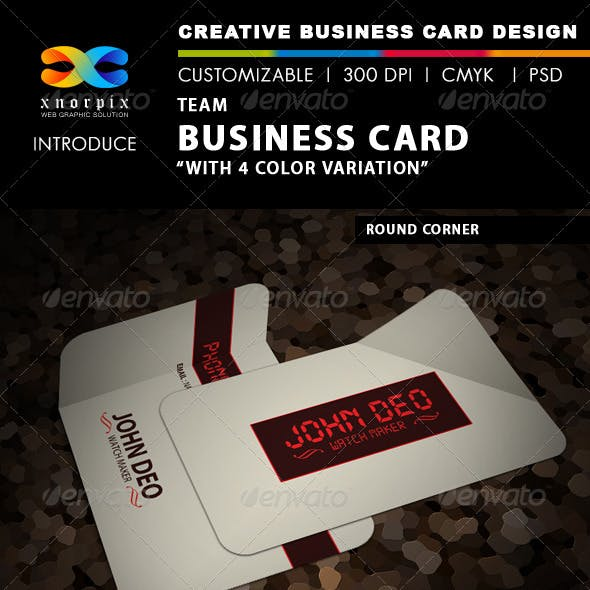 Time Business Card