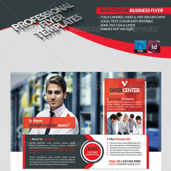 Data Center Business Flyer