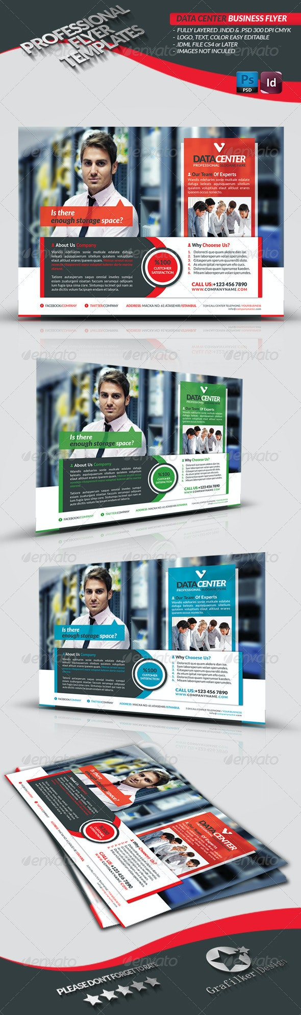 Data Center Business Flyer - Corporate Flyers