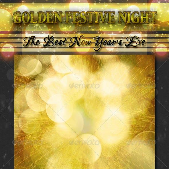 Golden Festive Night